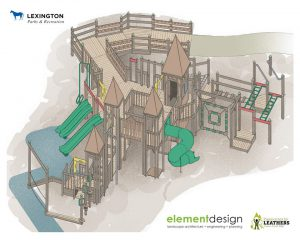 rendering of the new shillito park