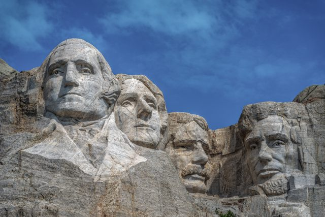 Presidents' Day: mount rushmore