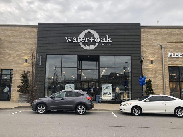 water + oak store front