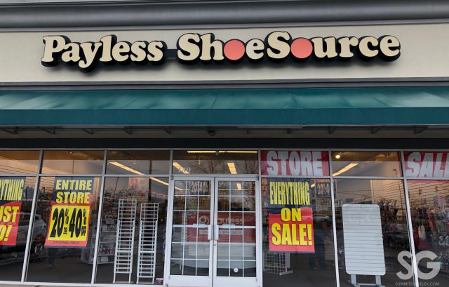 payless shoesource store front