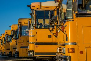 Weather Make-Up Days: yellow school bus's