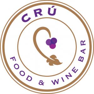 cru food & wine bar logo