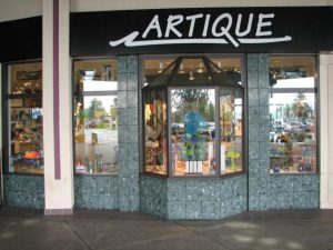 Outside shot of Artique Gallery