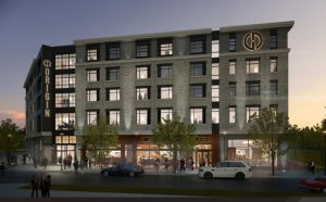 Hotel: rendering of a new hotel