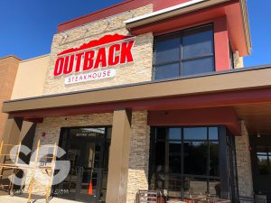 outside view of Outback Steakhouse